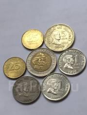 Набор из 7 монет Филиппины