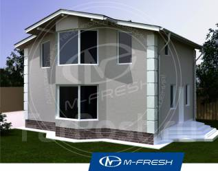 M-fresh Young man-зеркальный. 100-200 кв. м., 1 этаж, 4 комнаты, каркас