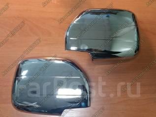 Накладка на зеркало. Toyota Land Cruiser, HDJ101, FZJ100, UZJ100W, FZJ105, HDJ101K, HDJ100, HZJ105, UZJ100L, UZJ100, HDJ100L, J100