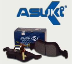 Колодки тормозные Asuki AF-23021 + Замена Бесплатно. 3-рабочая. Nissan: Maxima, Stanza, Prairie, Primera, Auster, Bluebird Mazda Autozam AZ-1, PG6SA H...