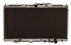 Радиатор охлаждения двигателя. Nissan: Presage, Prairie, Liberty, Serena, Bassara
