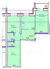 3-комнатная, улица Совхозная 31. Железнодорожный, агентство, 84 кв.м.