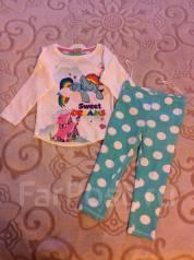 Пижамы. Рост: 80-86, 86-98 см