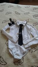 Рубашки для бальных танцев. Рост: 122-128 см