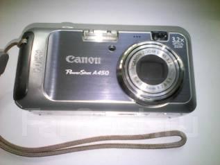 Canon PowerShot A450. 8 - 8.9 Мп, зум: 4х