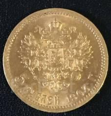 Продам Золотую монету 5 рублей 1903 год АР Николай ll