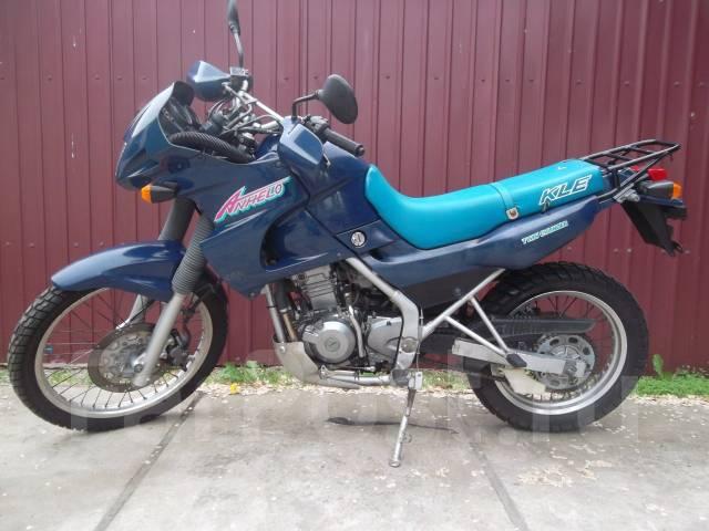 Продажа мототехники (туристический) kawasaki kle 400 2000 года в москве