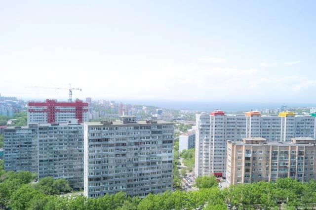 2-комнатная, улица Аллилуева 12а. Третья рабочая, 60 кв.м. Вид из окна днем