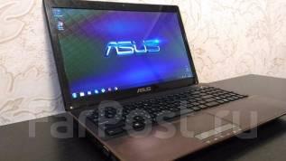 "Asus K53SK. 15.6"", 2,3ГГц, ОЗУ 4096 Мб, диск 320 Гб, WiFi, Bluetooth, аккумулятор на 2 ч."