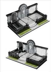 Памятники и благоустройство мест захоронений, ритуальные услуги.