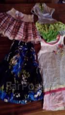 Вещи на девочку пакетом. Рост: 110-116, 116-122 см