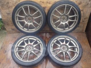 Продам отличные колеса WORK R18 с Legacy. 7.5x18 5x100.00 ET0