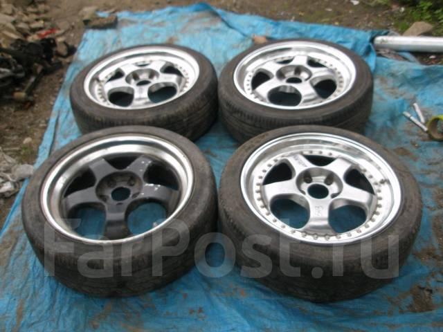 Комплект колес Work R18. 7.5x18 5x114.30 ET46