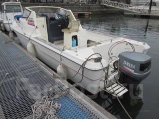 Yamaha F-23. Год: 1996 год, длина 6,90м., двигатель подвесной, 140,00л.с., бензин