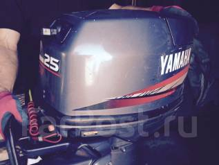 Yamaha. 25,00л.с., 2х тактный, бензин, нога L (508 мм), Год: 1995 год. Под заказ