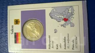 2 евро 2012 года Сакса Германия в буклете
