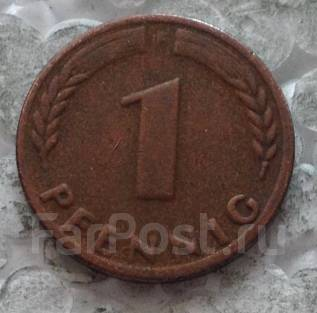 1 пфенниг 1970г. F