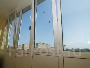 Установка окон балконов