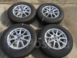 185/70 R14 Bridgestone Blizzak Revo GZ литые диски 4х100. 5.5x14 4x100.00 ET38 ЦО 72,0мм.