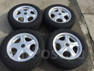 175/65 R14 Bridgestone Blizzak Revo1 литые диски 4х4. 6.0x14 4x100.00, 4x114.30 ET38