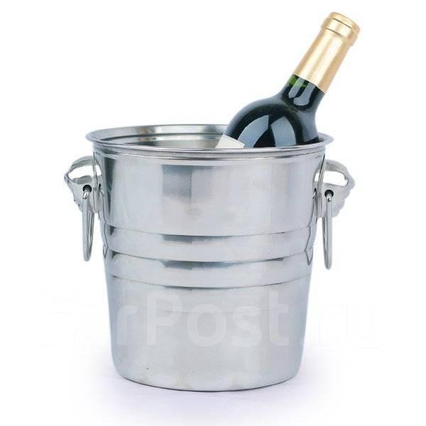 Ведра для шампанского, льда.