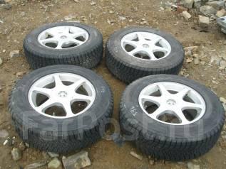 Комплект колес с резиной зима 215/70R16. 7.0x16 5x114.30 ET35