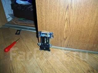 Ремонт шкафов купе замена роликов и направляющих
