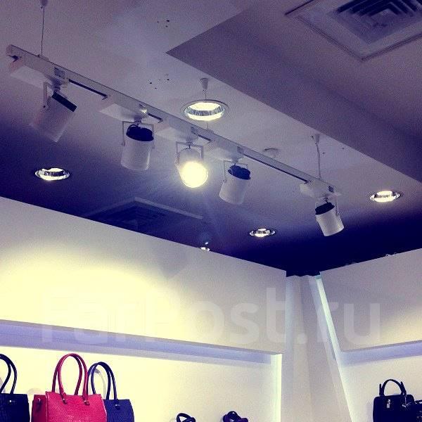 Светильники и ленты светодиодные.