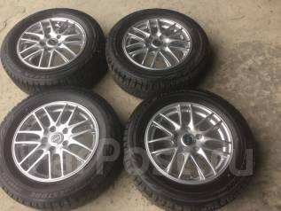 215/60 R 16 Bridgestone Blizzak GZ на литых дисках (L 5-1603). 6.5x16 5x100.00 ET46