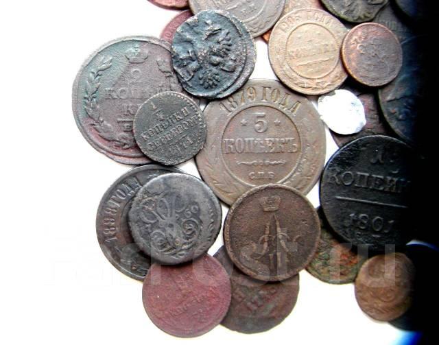 Подборка монет от Михаила Федоровича до раннего СССР-35 шт.