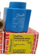 Электромагнитная катушка соленоидного клапана 018F6701 Danfoss. Под заказ