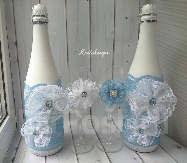 Украшения на бутылки.