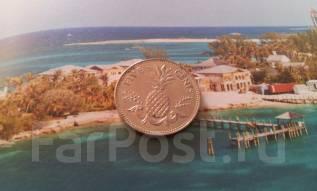 Экзотика! Багамы. 5 центов 2005 года. Ананас!