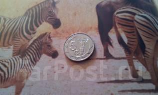 Экзотика! Намибия. 5 центов 2002 года. Флора.