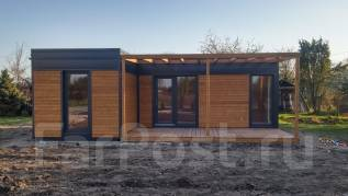 Современный модульный дом 80м2 за 1,2 млн. от застройщика