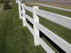 Бетонный забор ранчо