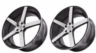 Sakura Wheels 9140. 8.5/10.0x22, 5x120.00, ET35/35, ЦО 74,1мм.