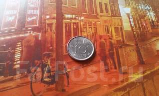 Нидерланды. 10 центов 1965 года.
