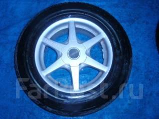 Диски Lizea с резиной Bridgestone 215/70R16 зима. 7.0x16 5x114.30 ET45