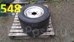 Продам пару грузовых колёс Dunlop Graspic DS-V 215/70R15LT. 6.0x15 6x139.70 ЦО 110,0мм.