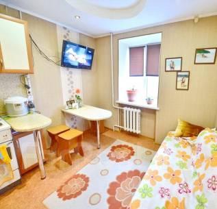 1-комнатная, улица Костромская 46б. Железнодорожный, агентство, 33 кв.м. Интерьер
