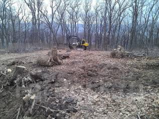 Раскорчуем участок , спилим любые деревья , отсыплем дорогу