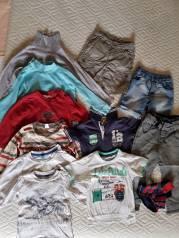 Футболки, джинсы мальчику 2-4 года. Рост: 86-98 см