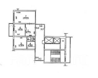 2-комнатная, проезд репина. авиагородок, агентство, 56 кв.м.