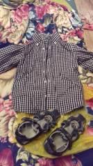 Сандали и рубашка для мальчика