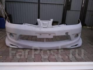 Обвес кузова аэродинамический. Nissan Tiida
