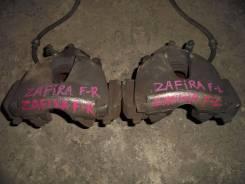 Суппорт тормозной. Opel Zafira, A05 Двигатель A18XER