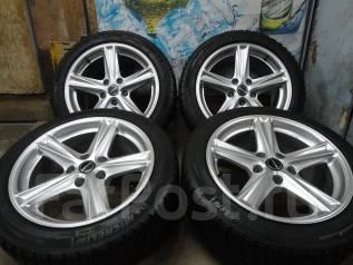 Продам Крутые колёса Borbet BMW E39 и т. д+Зима Жир 235/45R17. 8.0x17 5x120.00 ET13