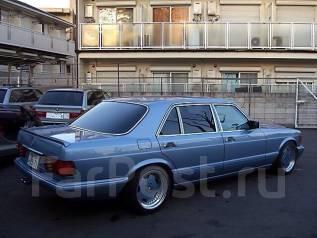 Спойлер. Mercedes-Benz S-Class