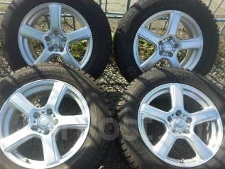 Комплект зимних колес 225/65R17 Yokohama на дисках Grass 5x114.3. 7.0x17 5x114.30 ET48 ЦО 70,0мм.